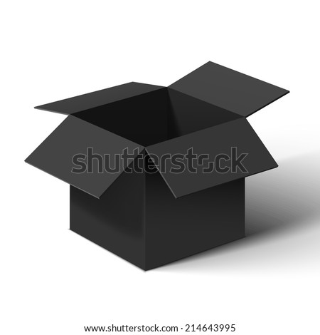 Black box - stock vector