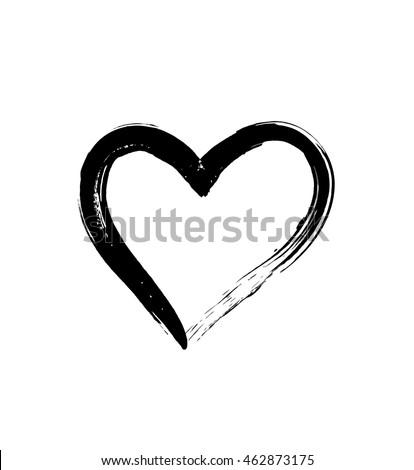 Black and white love heart images for Ridge motor inn portage wi
