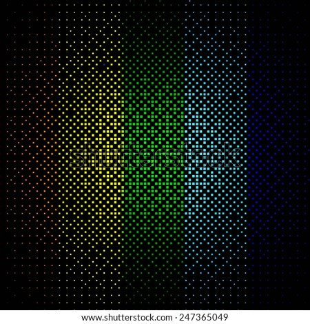Black business abstract background with color gradients. Modern vector illustration. - stock vector