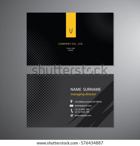 Black business cards set design template stock vector 2018 black business cards set design template stock vector 2018 576434887 shutterstock reheart Gallery