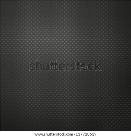 Black carbon background - stock vector