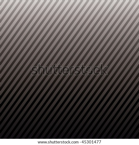black carbon weave with repeat pattern ideal as a wallpaper or background - stock vector