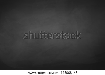 Black chalkboard background.Vector texture. - stock vector