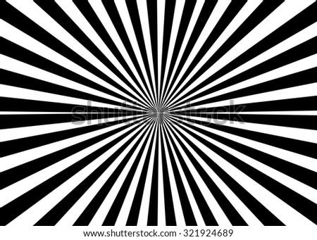 Black circular light scattered behind - stock vector