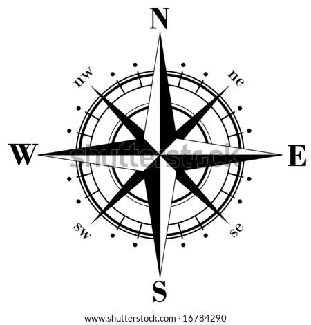 North Direction Symbol