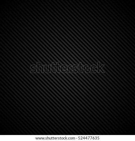 Black corduroy stripe background vector