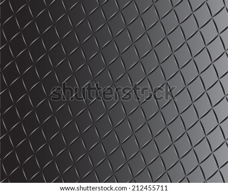 black diamond plate - stock vector