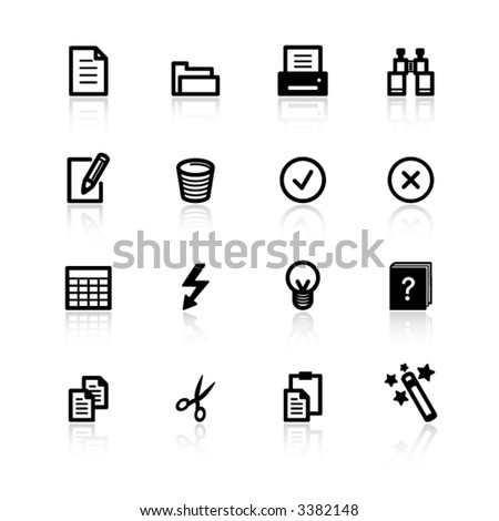 black document icons