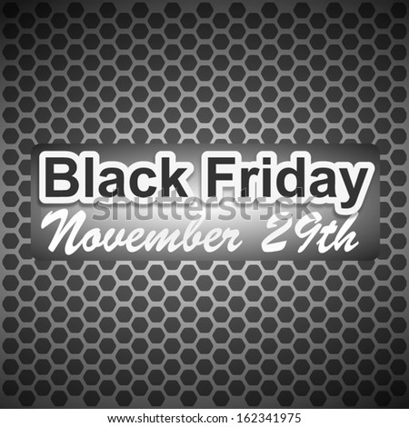 Black Friday Design - stock vector