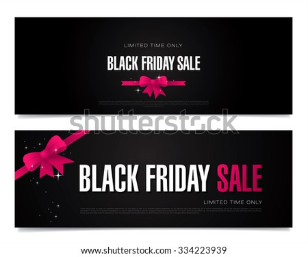 Black friday sale. - stock vector
