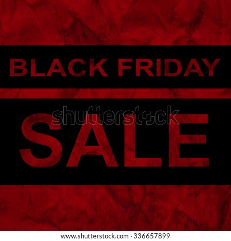 Black friday sale announcement on the red watercolour background, web design, vector, eps 10