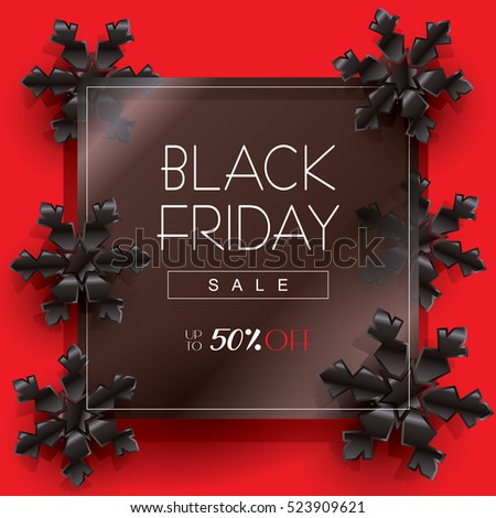 Black Friday Sale Black Friday Sale Stock Vector 522392527