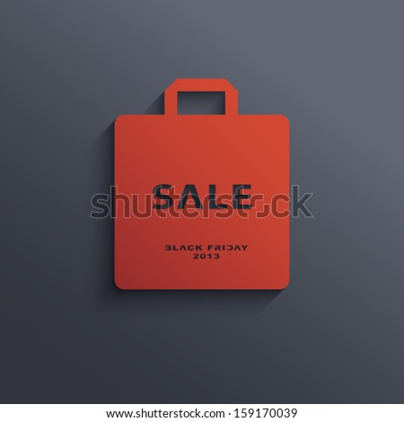 Black Friday sales vector illustration suitable for advertising or as a web element, etc. - stock vector