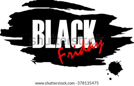 Black friday. Vector illustration - stock vector