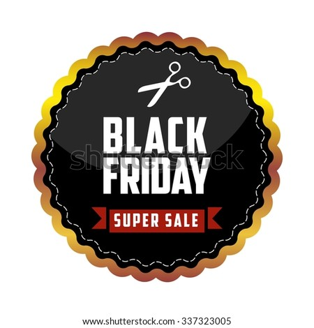 Black Friday Vector Template