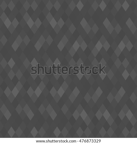 Black Geometric Pattern, Seamless triangle vector pattern, Endless background, vector illustration