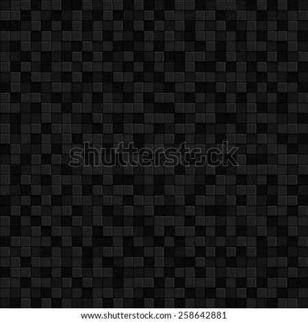 Black geometric texture. Vector pattern Background. - stock vector