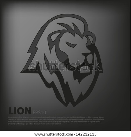 Black lion logo - photo#21