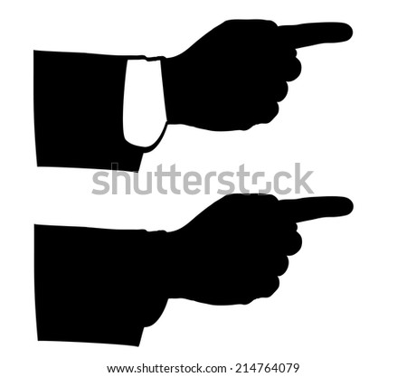 black man hands.icons for business and finance, vector eps10.