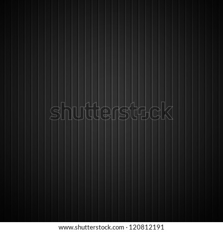 Black metal (chrome, stainless steel, titanium) background with lined texture for internet sites, web user interfaces (ui) and applications (apps). Vector illustration. - stock vector