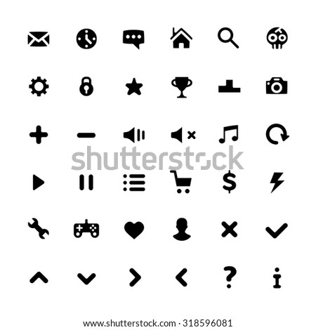 Media Player Icons Sto...