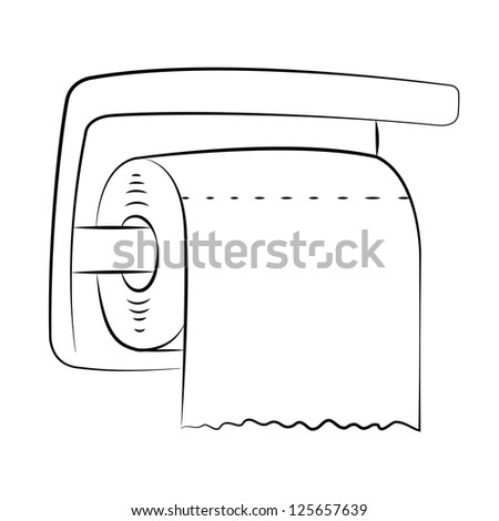 toilet paper outline Download handle, line, outline, paper, thin, tissue, toilet icon in png or ico format icon designed by ivan ryabokon found in the icon set hygiene tools - outline.