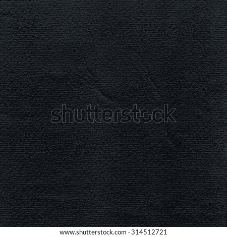Black paper watercolor texture with damages, folds and scratches. Grunge empty blank background with space for text. Vector illustration clip-art design element saved in 8 eps - stock vector