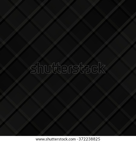 Black pattern vector background - stock vector