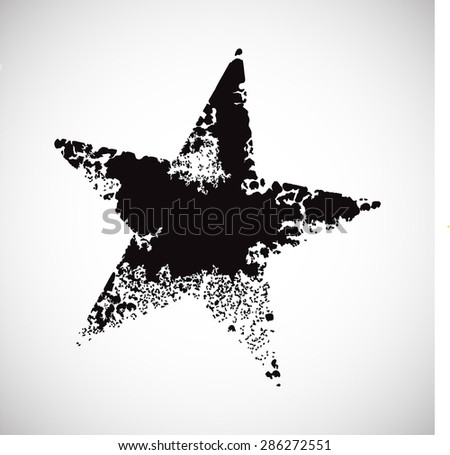 Black star background stock vector hatbox