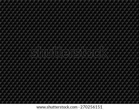 Black texture - stock vector