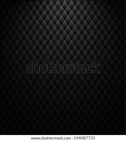 black triangles background - stock vector