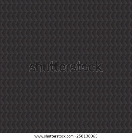 Black triangles shapes background abstract geometry pattern - stock vector
