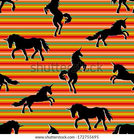 Black Unicorns mc Black Unicorns Silhouettes on