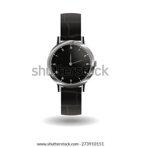 black watch - stock vector