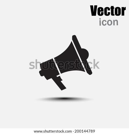black web icon on a gray background - stock vector