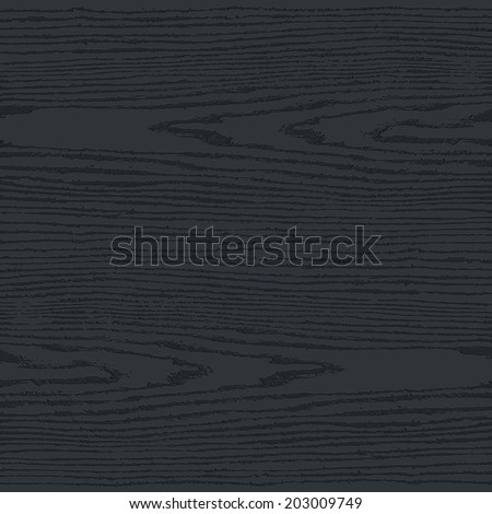 Black wood texture background in square format. Blank realistic plank with annual years circles. Empty natural pattern swatch template. This vector illustration design elements save in 10 eps - stock vector