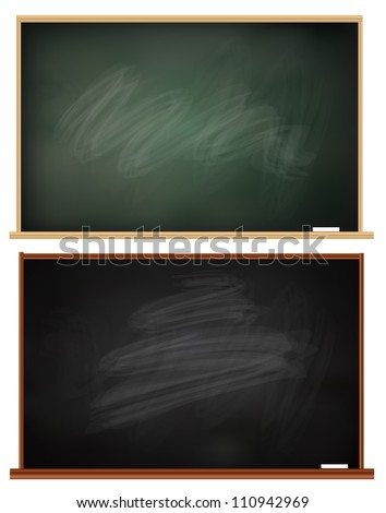 Blackboard - stock vector