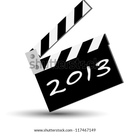 blackboard new year 2013 eps10 - stock vector