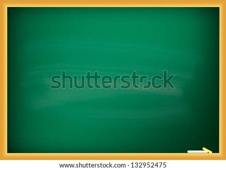 Blackboard. Vector - stock vector