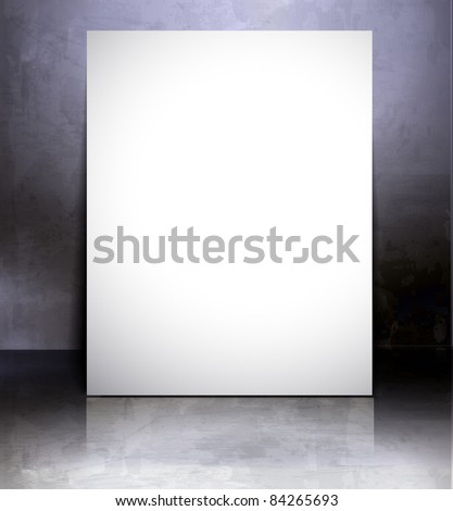 Blank banner of Poster/flyer design content background.