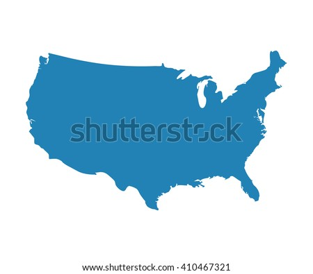United States Of America Map Stock Images RoyaltyFree Images - United states of anerica map