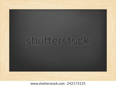 Blank board - stock vector