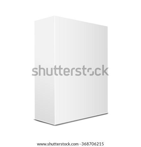 blank box - stock vector