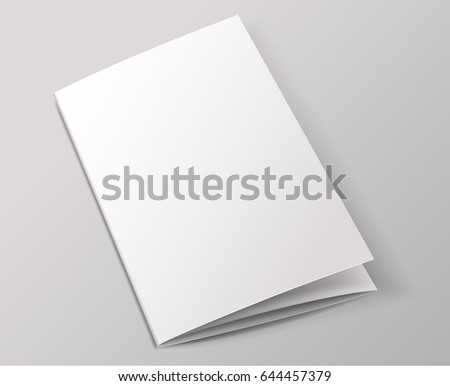 Blank Booklet Stock Images, Royalty-Free Images & Vectors