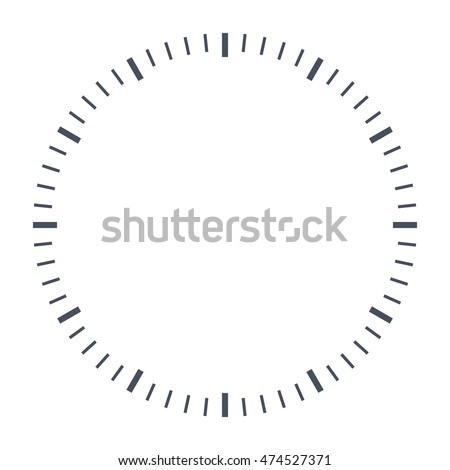 Blank clock face, just set your own time.