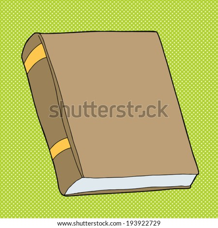 Outline Large Book Shelf Blank Books Stock Vector ...