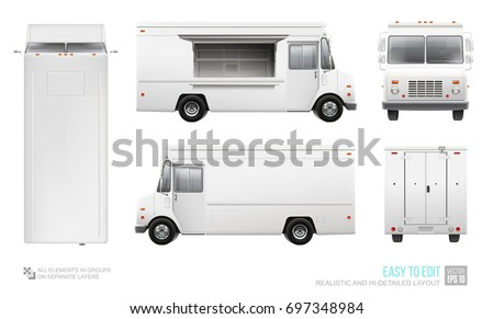 Blank food truck hidetailed vector template stock vector 697348984 blank food truck hidetailed vector template stock vector 697348984 shutterstock pronofoot35fo Images