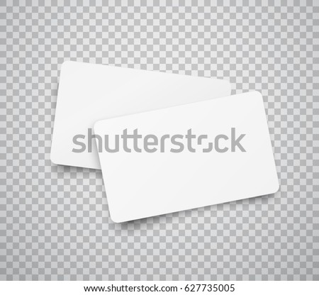 Blank horizontal plastic paper business cards stock vector royalty blank horizontal plastic paper business cards stock vector royalty free 627735005 shutterstock reheart Gallery