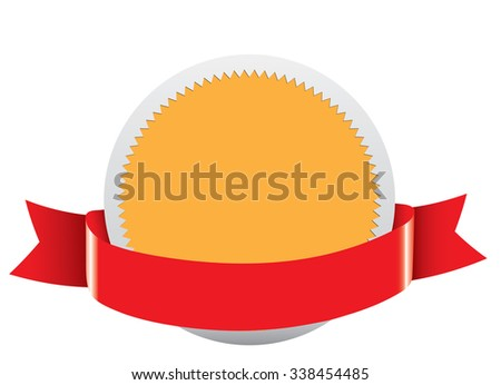 Blank  label - stock vector