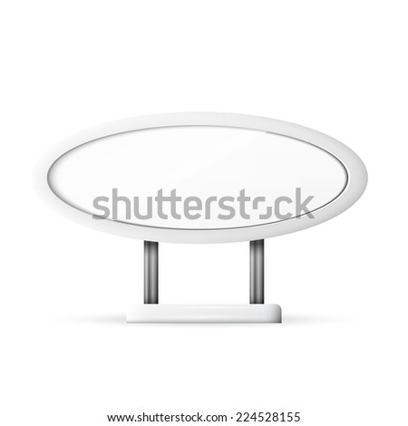 Pedestal Round Table Stock Vector 41941423 Shutterstock